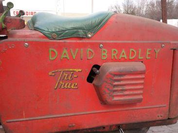 1954 David Bradley Tri Trac
