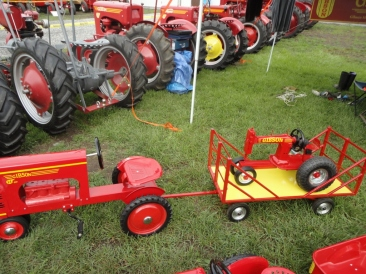 Pedal Tractor and Toy